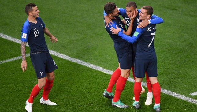 كأس العالم 2018 تشكيلة منتخب فرنسا في مباراة اليوم مع منتخب الدنمارك سبورت 360