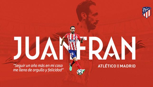 أخبار الدوري الإسباني: رسمياً .. خوانفران يجدد عقده مع أتلتيكو مدريد لموسم اضافي -  سبورت 360 عربية