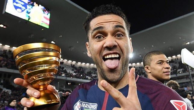Paris-Saint-Germains-Dani Alves-Sevilla