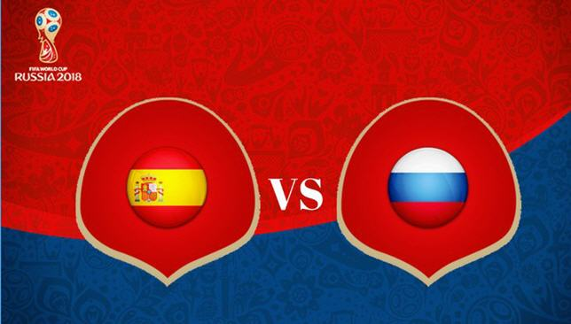 World-Cup-2018-Spain-Vs-Russia