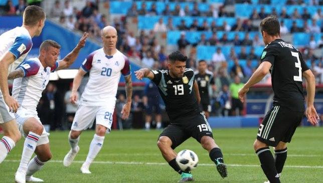 مباراة منتخب الأرجنتين وأيسلندا .. أجويرو يفتتح سجل الأرجنتين التهديفي في المونديال .. فيديو -  سبورت 360 عربية
