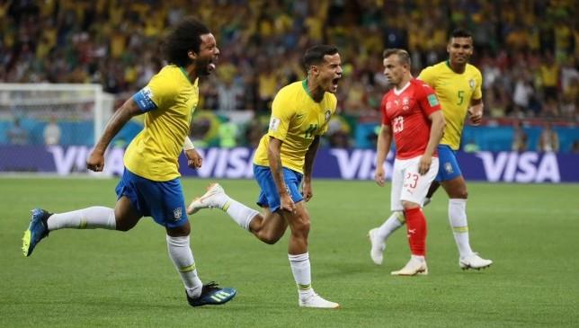 مباراة منتخب البرازيل ومنتخب سويسرا : كوتينيو ينضم إلى قائمة مسجلي هدف الافتتاح للبرازيل في كأس العالم -  سبورت 360 عربية