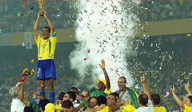 brazil world cup 2002 germany beaten