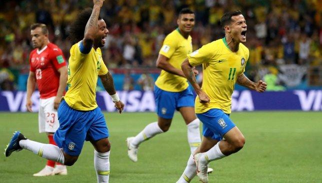 مباراة منتخب البرازيل ومنتخب سويسرا .. هدف كوتينيو يبعث فألاً حسناً لعشاق منتخب البرازيل -  سبورت 360 عربية