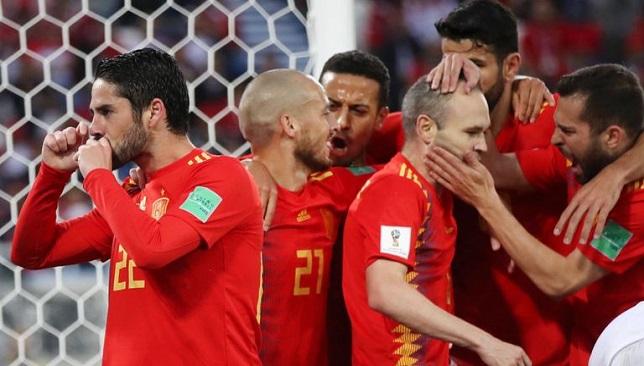 نتيجة بحث الصور عن منتخب اسبانيا والمغرب