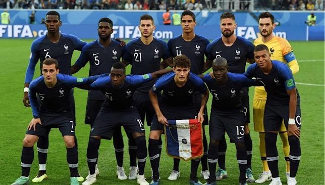 تشكيلة منتخب فرنسا ضد كرواتيا في نهائي كأس العالم 2018 سبورت 360