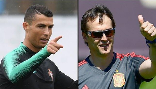 Julen-Lopetegui-Cristiano-Ronaldo
