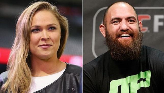Ronda-Rousey-Travis-Browne