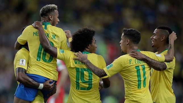 ملخص أخبار منتخب البرازيل في كأس العالم اليوم الإثنين 2/7/2018