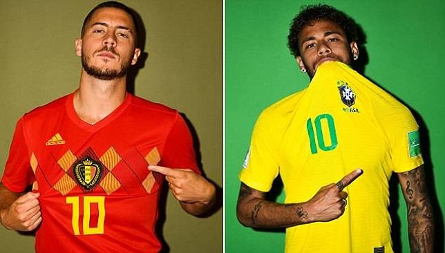 hazard neymar