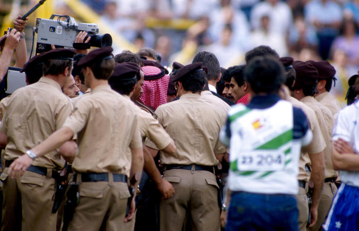 Soccer - World Cup Spain 82 - Group Four - France v Kuwait