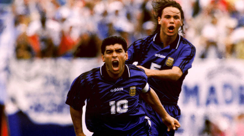 Soccer - World Cup USA '94 - Group D - Argentina v Greece