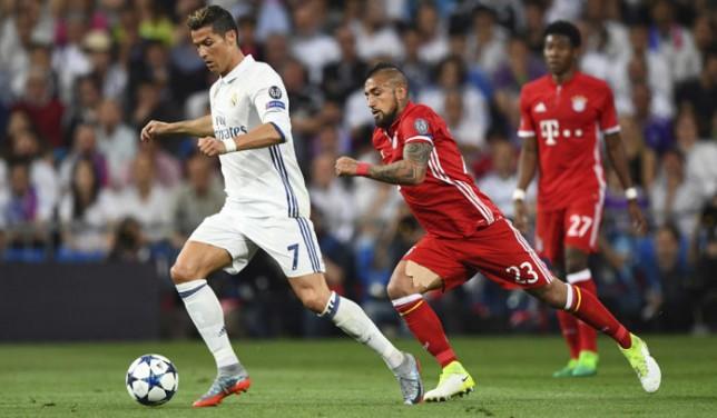 Football - UEFA Champions League 2016/17 Quarter Final Second Leg Real Madrid v Bayern Munich Santiago Bernabéu Stadium, Madrid, Spain - 18 Apr 2017