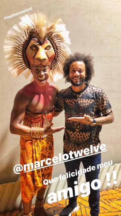 الصورة من حساب مارسيلو على انستجرام.