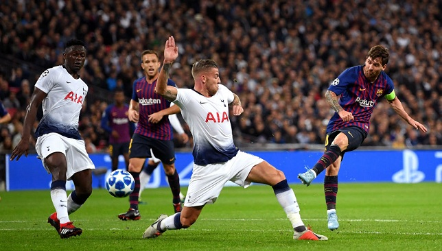 Tottenham Hotspur v FC Barcelona - UEFA Champions League Group B