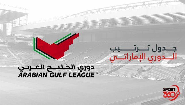 جدول ترتيب الدوري الإماراتي بعد نهاية الجولة 5 -  سبورت 360 عربية