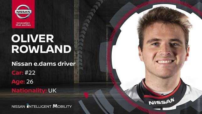 Nissan e.dams driver Oliver Rowland