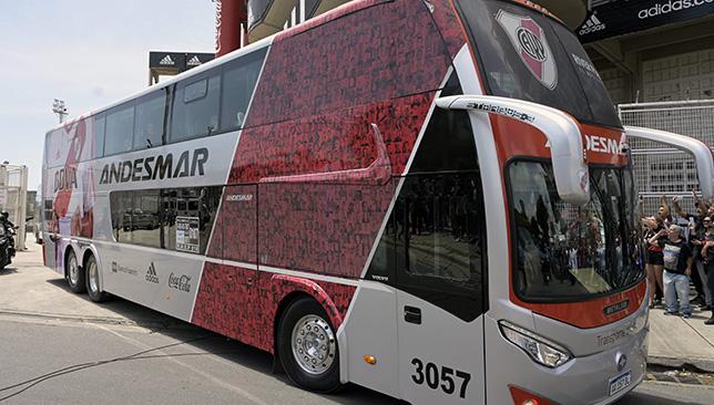 حافلة ريفر بليت.. الصورة من جيتي