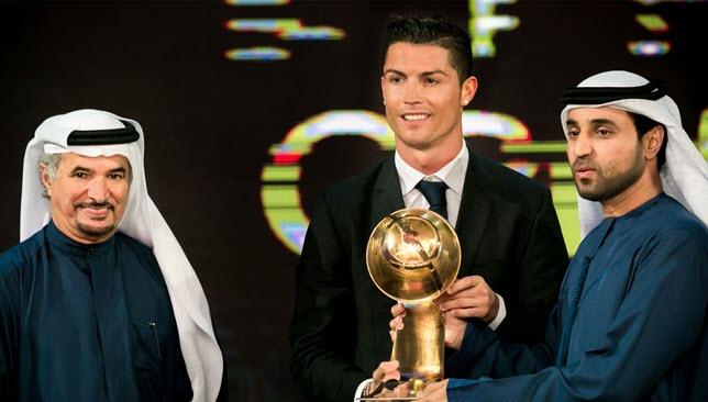 Ronaldo-Globe-Soccer-Awards
