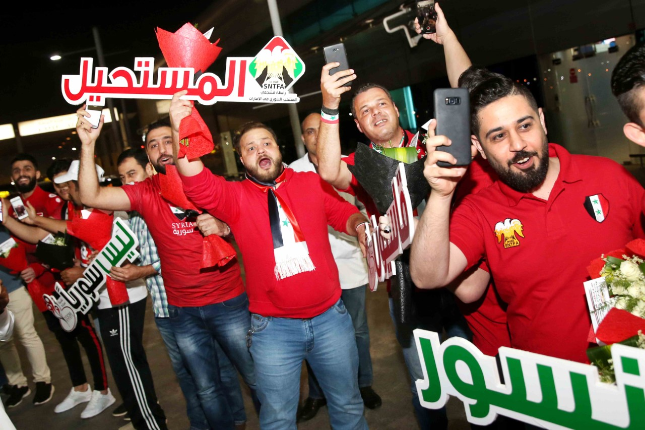thumbnail_Syria National Team arrive for AFC Asian Cup 2019 UAE (2)