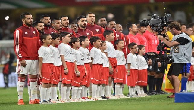 تشكيلة منتخب الامارات في مباراة اليوم مع منتخب قطر - سبورت 360