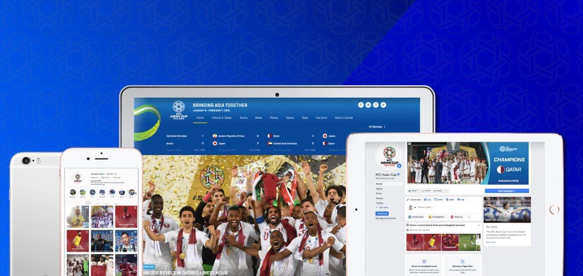 رقم قياسي لكأس آسيا الإمارات 2019 في التفاعل مع الجماهير