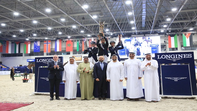 Abdullah Humaid Al Muhairi wins H.H. Sharjah Ruler Cup and Qualifies for Show Jumping World Cup 3
