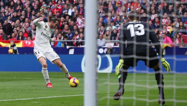 جاريث بيل يسجل الهدف رقم 100 له مع ريال مدريد