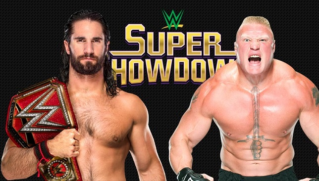 Seth-Rollins-vs-Brock-Lesnar-Universal-Championship-Super-Showdown-2019