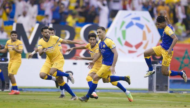 نتيجة بحث الصور عن النصر يتوج ببطولة الدوري