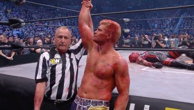 الصورة من Wrestling News