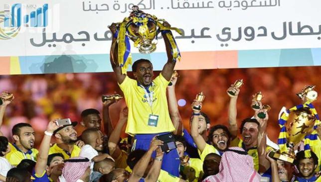 من كتاب الدوري السعودي النصر بطلا لنسخة 2013 2014 بعد غياب 19 عاما سبورت 360