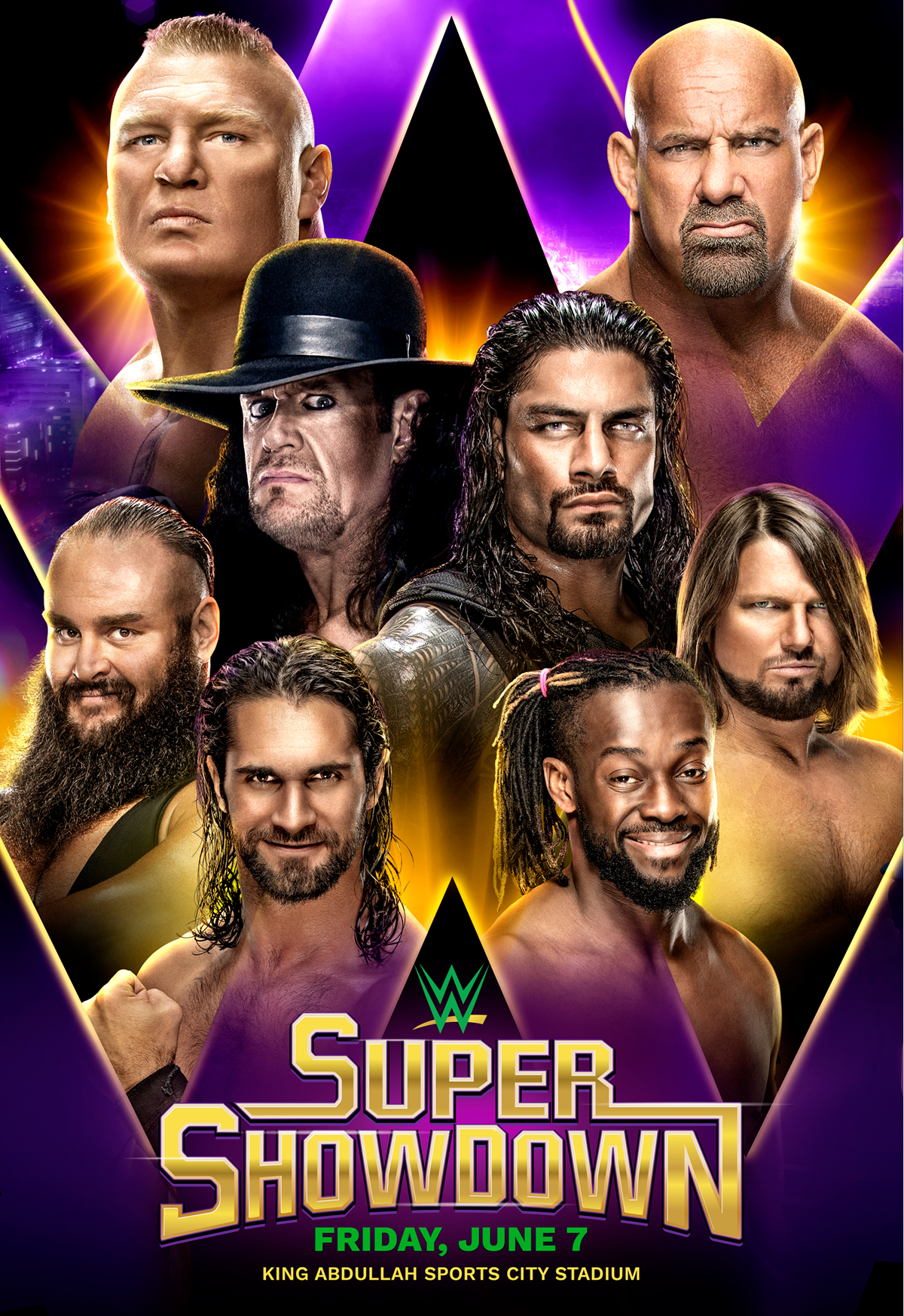 WWE Super ShowDown keyart