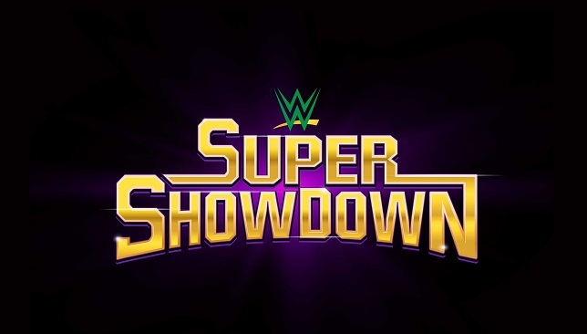WWE Super ShowDown logo