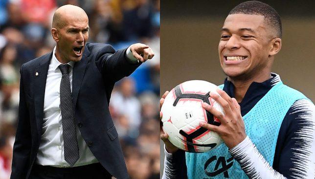 Zidane-mbappe