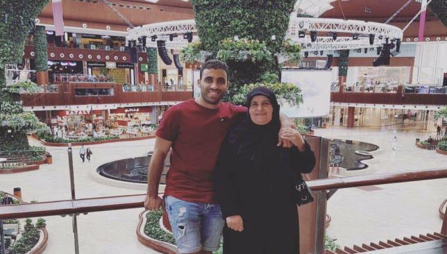 حمدالله ووالدته