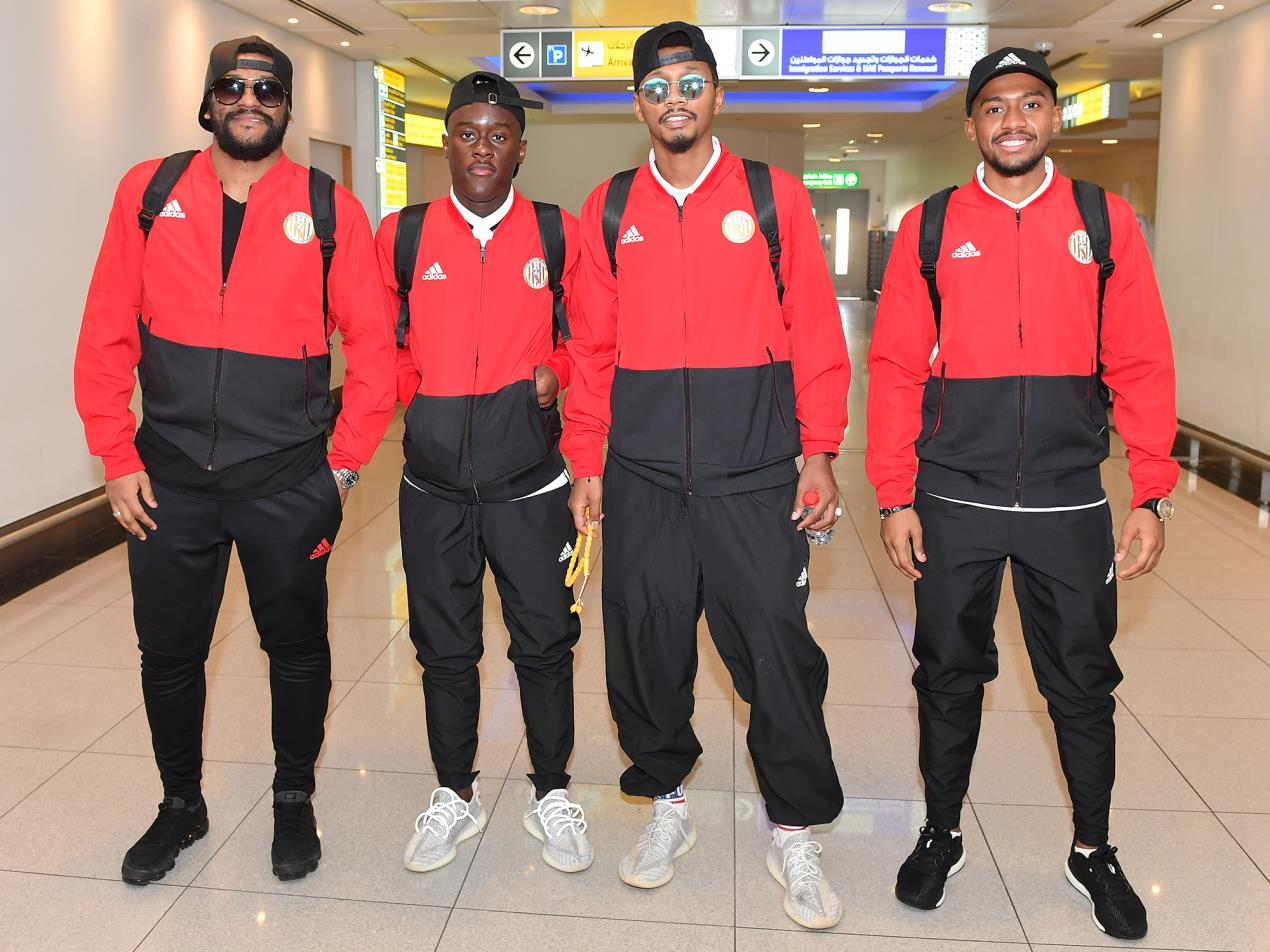 Al Jazira players heading to Netherlands for the training camp