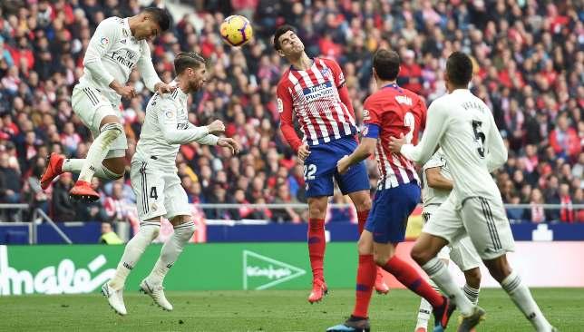 ريال مدريد في مواجهة جاره أتلتيكو مدريد