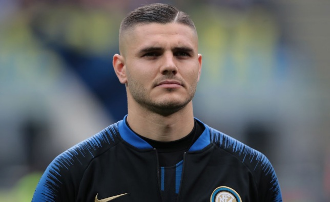during the Serie A match between FC Internazionale and Atalanta BC at Stadio Giuseppe Meazza on April 7, 2019 in Milan, Italy.