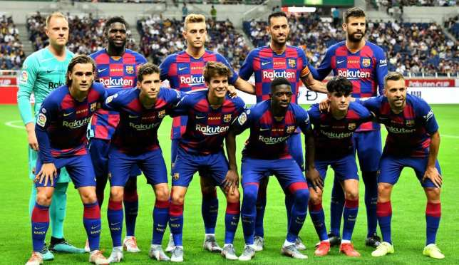 موقع برشلونة ينشر صورة