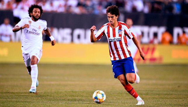جواو فيليكس لاعب أتلتيكو مدريد