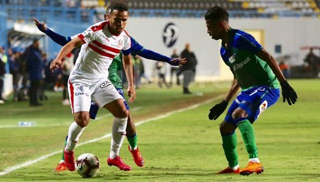 موعد مباراة الزمالك اليوم ضد مصر المقاصة والقنوات الناقلة