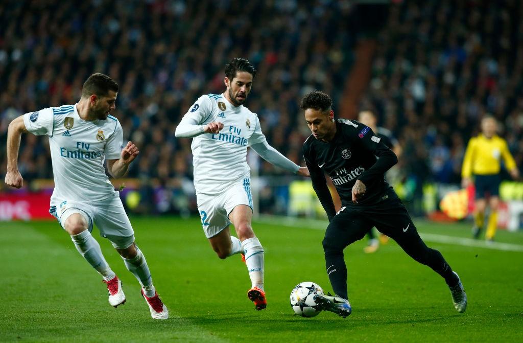نيمار ضد ريال مدريد