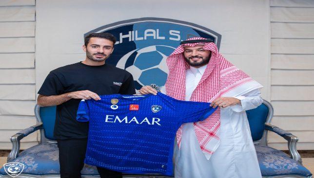 أخبار نادي الهلال : رسمياً .. الهلال يضم أمير كردي قادمًا من بانيو ...