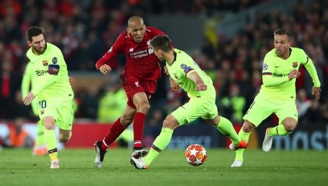 فابينيو ضد برشلونة