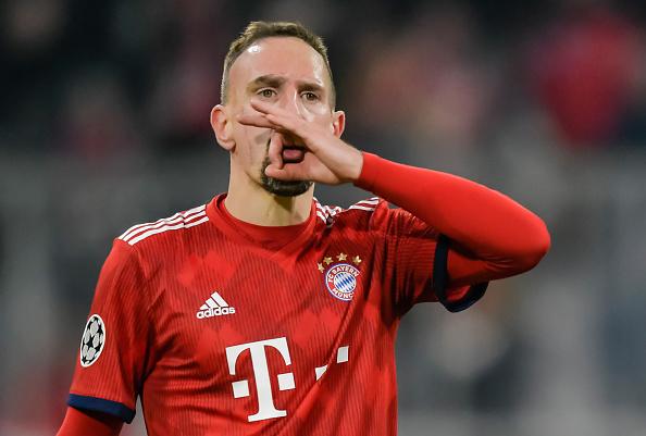 فرانك ريبيري واحد من أهم لاعبين نادي بايرن ميونيخ على مر التاريخ