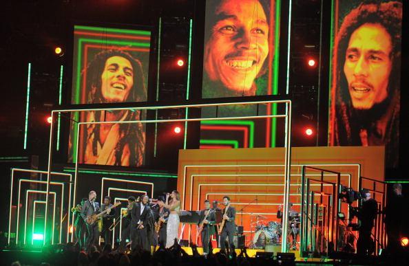 إحدى حفلات الاحتفال بأيقونة جامايكا والموسيقى اللاتينية بوب مارلي