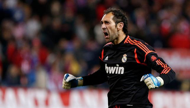 دييجو لوبيز حارس ريال مدريد سابقاً