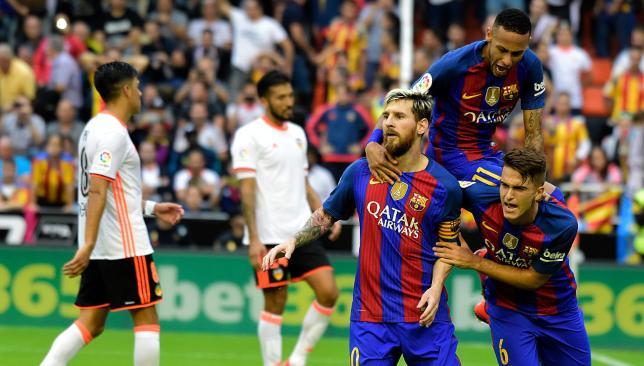 لاعبو برشلونة