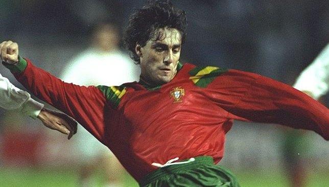 باولو فوتري بقميص منتخب البرتغال